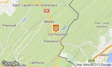 Mapa Les Rousses Estudio 14776