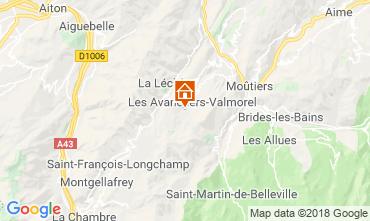 Mapa Valmorel Apartamento 59108