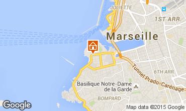 Mapa Marsella Apartamento 93064