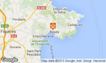 Mapa Rosas Apartamento 68460