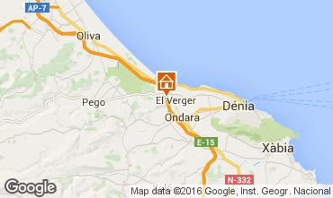 Mapa Denia Apartamento 103298