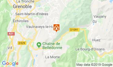 Mapa Chamrousse Apartamento 30487