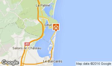 Mapa Port Leucate Villa 93873