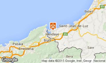 Mapa Hendaya Apartamento 60780