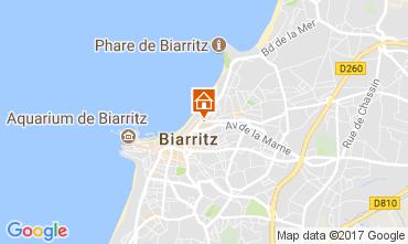 Mapa Biarritz Apartamento 112357