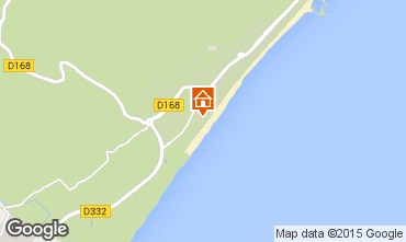 Mapa Narbonne plage Apartamento 30901