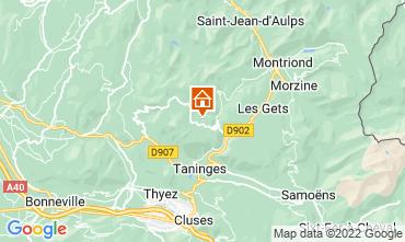 Mapa Praz de Lys Sommand Chalet 27201