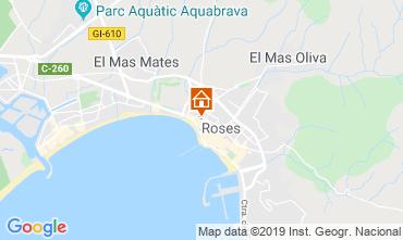 Mapa Rosas Apartamento 81552