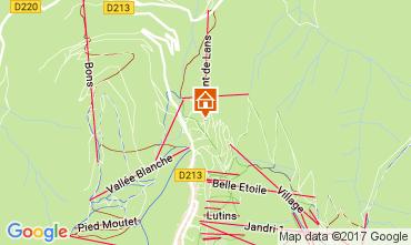 Mapa Les 2 Alpes Estudio 100442