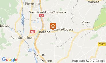 Mapa Vaison la Romaine Casa rural 101053