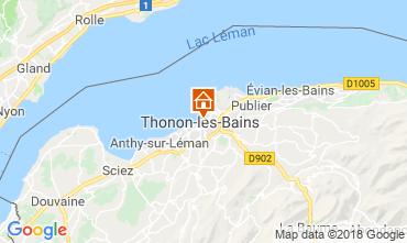 Mapa Thonon Les Bains Apartamento 114583