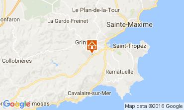 Mapa Saint Tropez Apartamento 93460