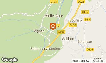 Mapa Saint Lary Soulan Apartamento 79284