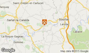 Mapa Sarlat Casa 76611