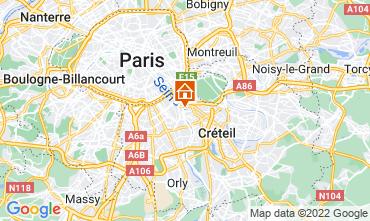 Mapa PARÍS Apartamento 13776