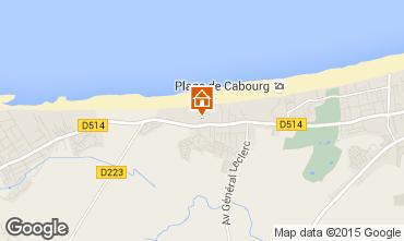 Mapa Cabourg Casa 10749