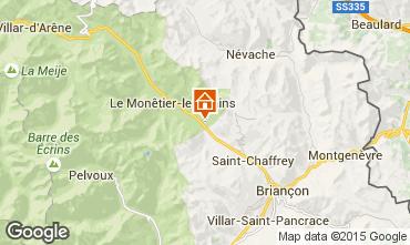Mapa Serre Chevalier Chalet 96859