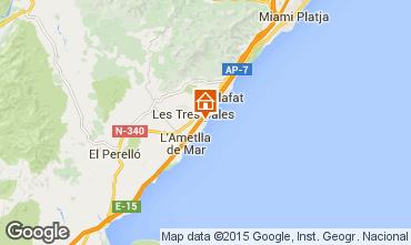 Mapa La Ametlla de Mar Villa 84456