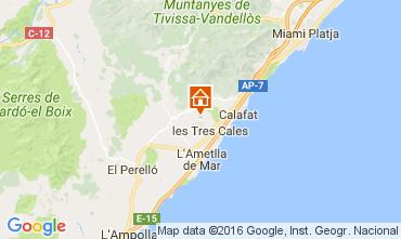 Mapa La Ametlla de Mar Villa 107484