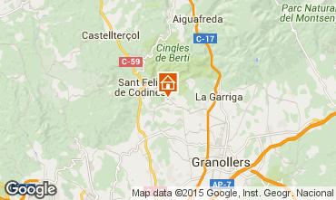 Mapa Barcelona Casa rural 100163