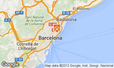 Mapa Barcelona Apartamento 88882