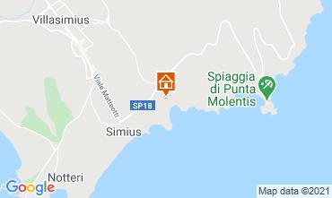 Mapa Villasimius Villa 108476