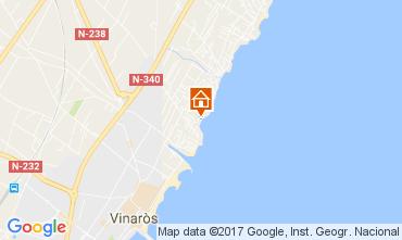 Mapa Vinaroz Apartamento 11346