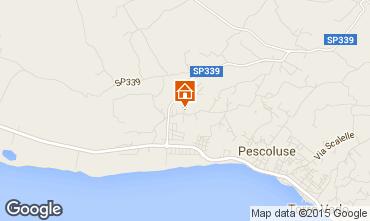 Mapa Pescoluse Villa 79425