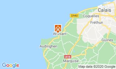 Mapa Wissant Villa 106031