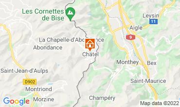 Mapa Ch�tel Chalet 40517