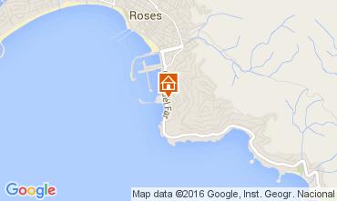 Mapa Rosas Apartamento 60884