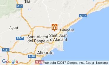 Mapa Alicante Villa 112666