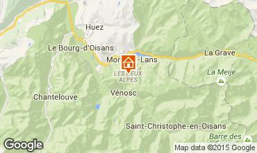 Mapa Les 2 Alpes Estudio 91147