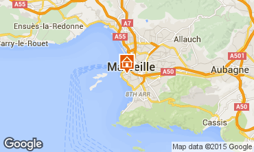 Mapa Marsella Apartamento 101206