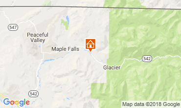 Mapa Mt Baker Chalet 18928