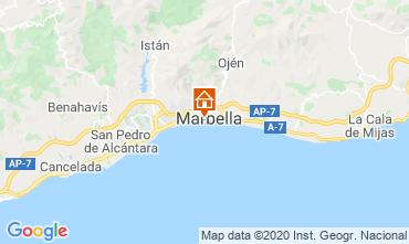 Mapa Marbella Apartamento 75680