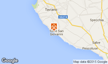 Mapa Ugento - Torre San Giovanni Apartamento 87709