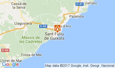 Mapa S'Agaró Apartamento 109160