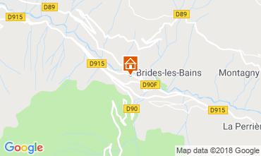 Mapa Brides Les Bains Estudio 51116