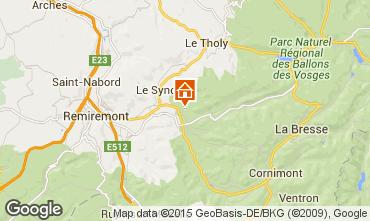 Mapa Gérardmer Chalet 4668