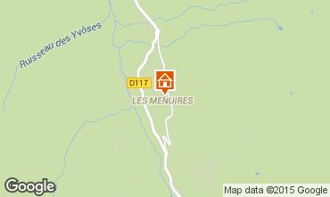 Mapa Les Menuires Apartamento 1631