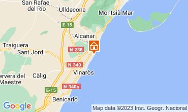 Mapa Vinaroz Villa 112682