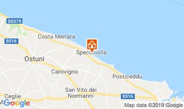 Mapa Ostuni Villa 118206