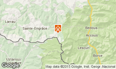 Mapa Arette La Pierre Saint Martin Estudio 14532
