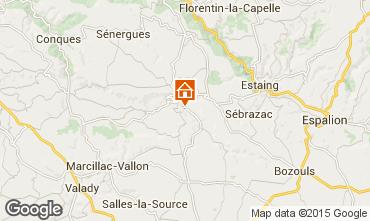 Mapa Conques Casa rural 96361