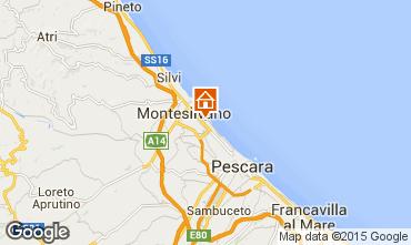 Mapa Montesilvano Marina Estudio 78015