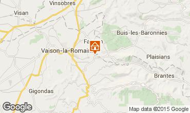 Mapa Vaison la Romaine Villa 82681