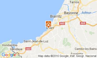 Mapa Biarritz Apartamento 67637