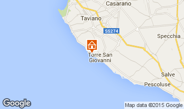 Mapa Ugento - Torre San Giovanni Villa 79989