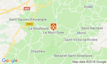 Mapa Le Mont Dore Apartamento 117145